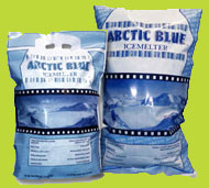 Arctic Blue Ice Melt Sizes