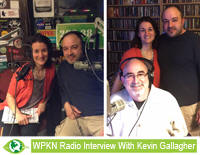 Joe and Emily Magazzi Radio Interview WPKN