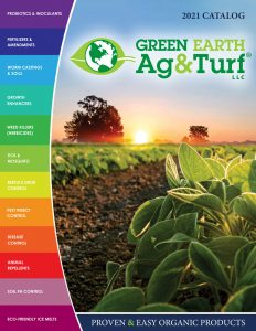 Green Earth Ag & Turf Organic Products Catalog 2021