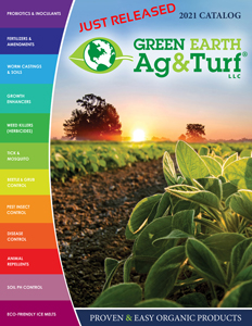 Green Earth Ag & Turf 2021 Catalog Top Organic Products