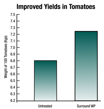 Surround WP Kaolin Clay Yield Improvements