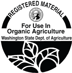 Washington State For Use in Organic Agriculture