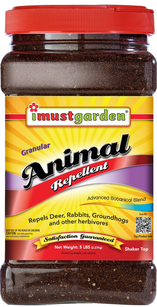 I Must Garden Animal Repellent Organic Deer Repellent