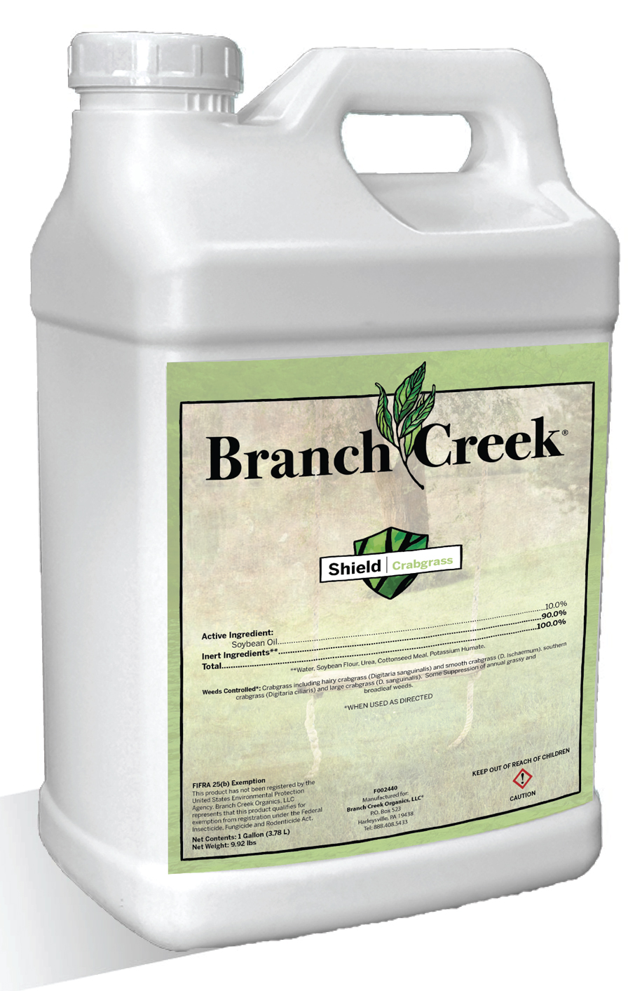 Branch Creek Crabgrass Shield Image