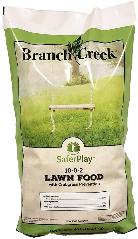 Branch Creek Safer Play 10-0-2 Organic Pre-Emergent