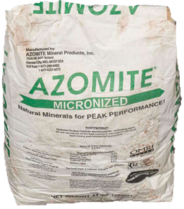 Azomite Organic Fertilizer Organic Approach